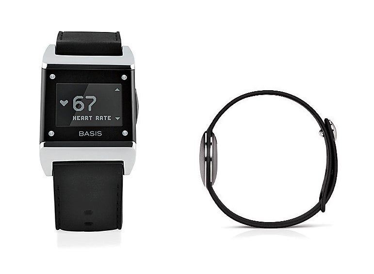 From left to right: Basis Health Tracker; Misfit Shine.