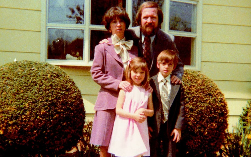 Carine, Chris, Walt, and Billie in the 1970s.