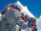 Mount Everest climbers Nepal Hilary Step