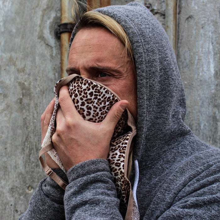 """Survivors can face serious respiratory problems as the result of breathing in toxic ash, pulverized concrete, particles, and dust. """"Believe it or not, the cup of a bra can make an impressive debris mask in a pinch,"""" Stewart says. Most are sized perfectly to cover the nose and mouth, and the straps can be reworked to tie around the head for hands-free use."""