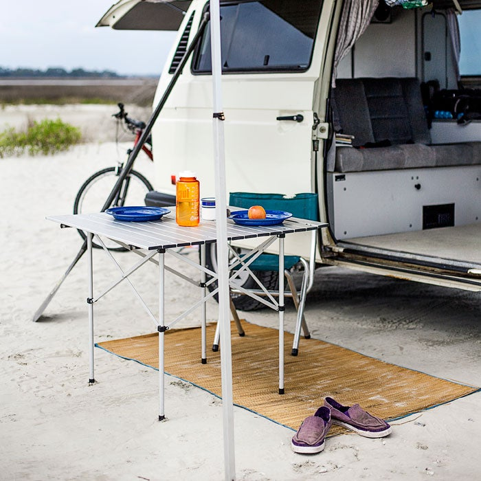 Rollup REI Camp Table