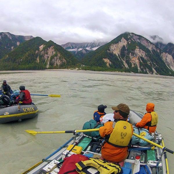 alaska, alsek, yukon terrirtory, rafting, swimming, adventure bucket list