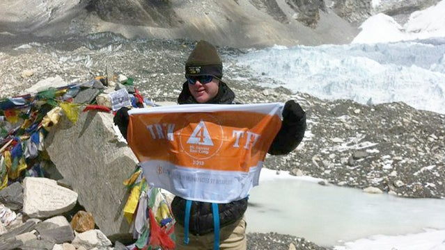 Eli reimer everest climbing teams record down syndrome first
