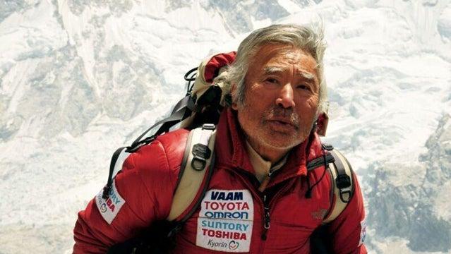 Yuichiro Miura everest climbing oldest