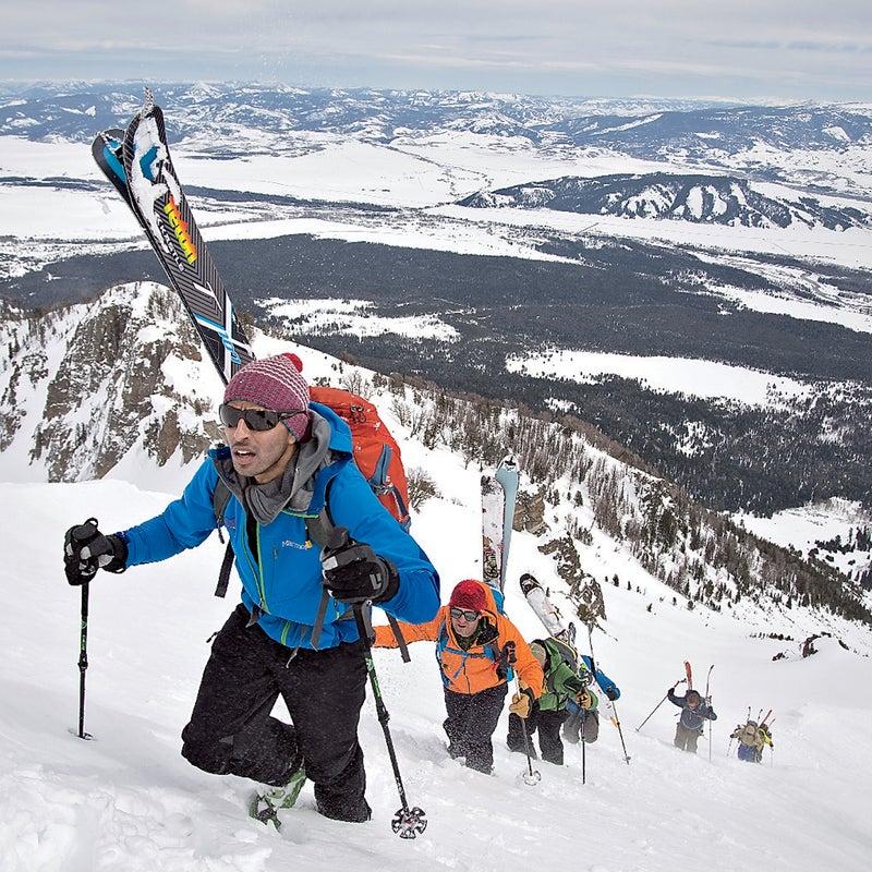backcountry ski skiing albright peak gtnp winter adventure zahan billimoria