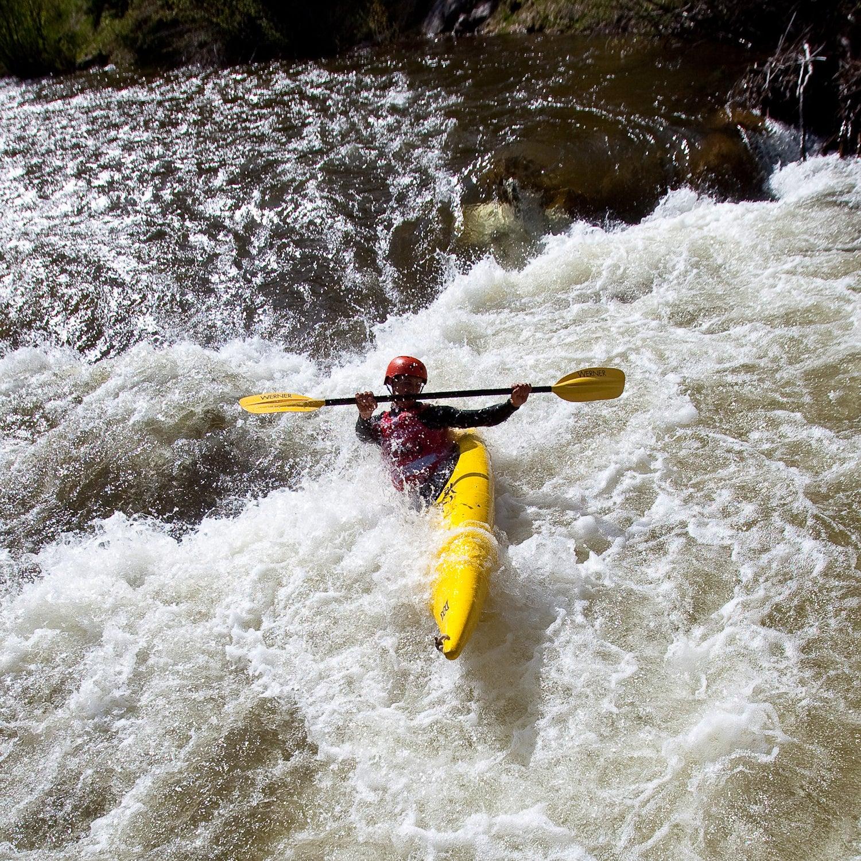 TMG Teva kayak sprint gopro mountain games