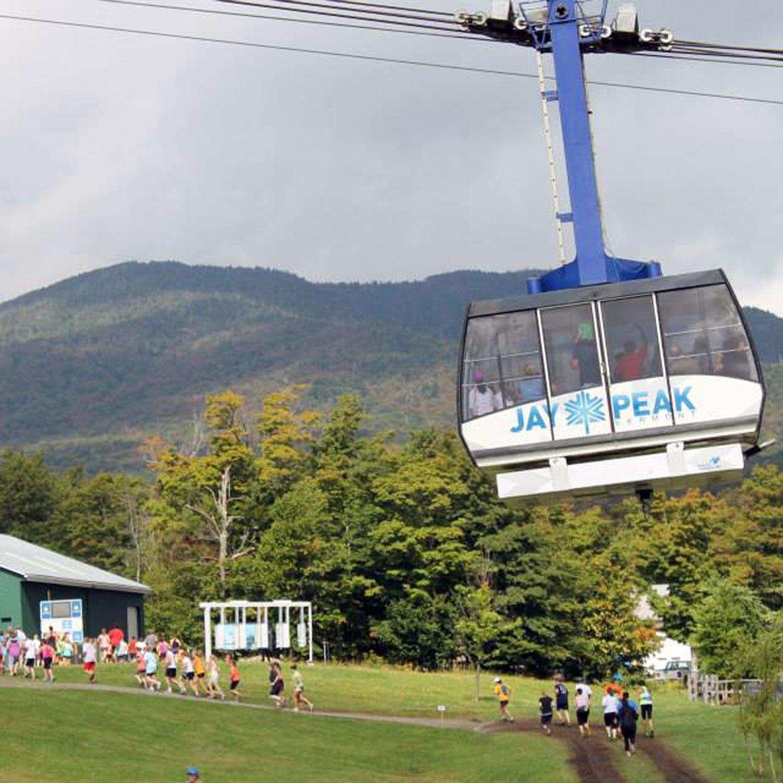 jay peak trail running festival race report