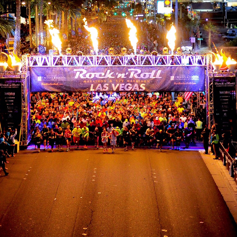 rock and roll marathon series race report