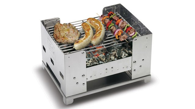 Esbit Foldable Barbeque Box camping grills bbq outside gear guy camping grills