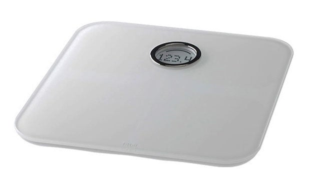 Fitbit Aria weight loss bathroom scale weighing fitness conditioning training
