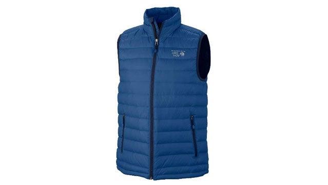 Mountain Hardwear Nitrous insulated vests outside gear guy bob parks