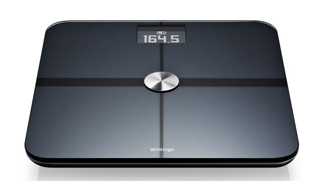 Withings Smart Body Analyzer weight loss bathroom scale weighing fitness conditioning training