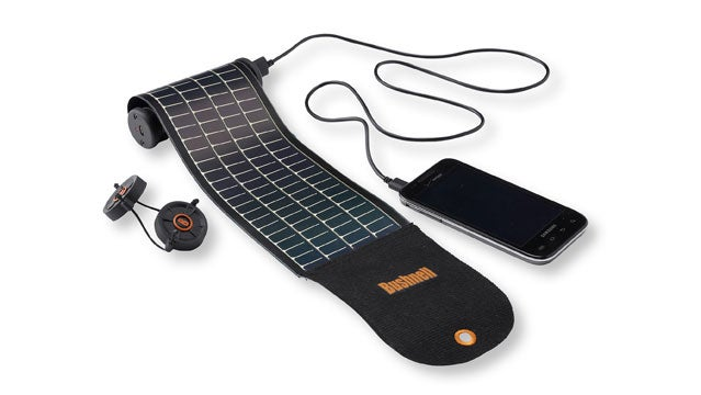 bushnell mini solar roll rugged solar chargers outside gear guy