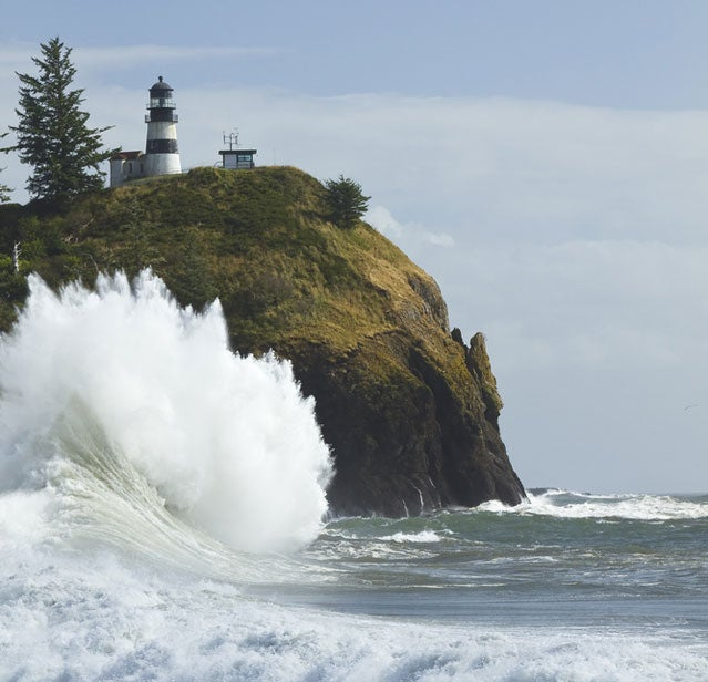 Cape Disappointment State Park via Shutterstock