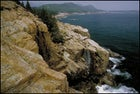 Acadia National Park's rocky coastline, Maine