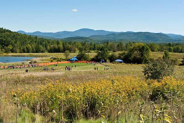 Burlington Vermont in summer