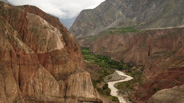 Cotahuasi canyon hiking canyons mexico