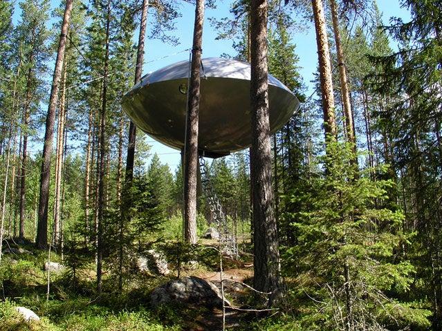 Treehotel's UFO