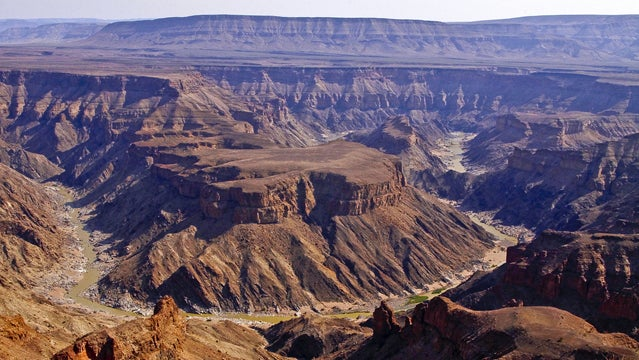 Fish River Canyon Namibia hiking canyons best places