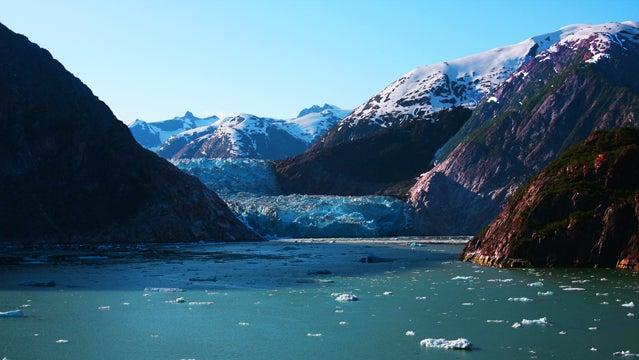 alaska inside passage ferry ferry trips water ice