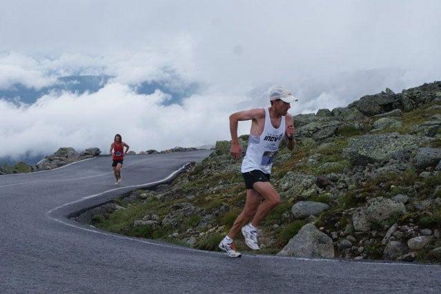 Running the Mount Washington Road Race
