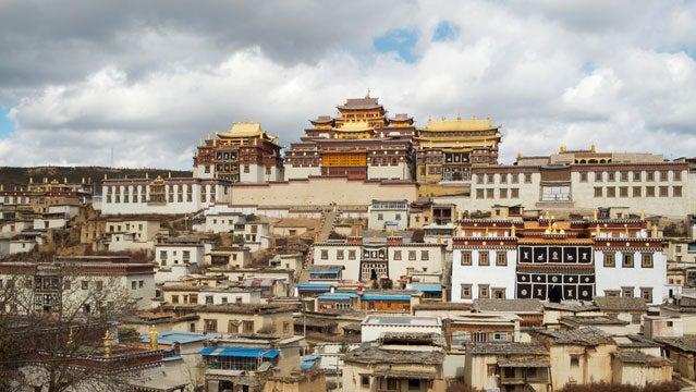china travel tibet shangrila