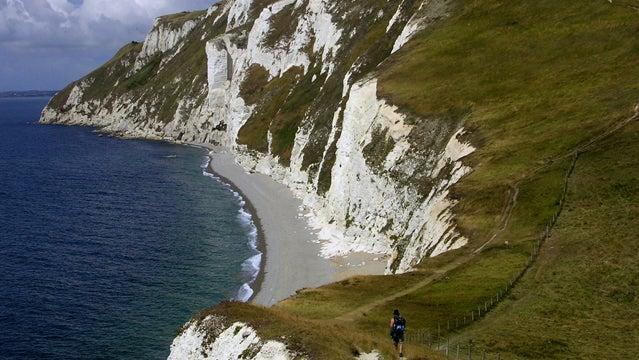 south west coast path hiking britain