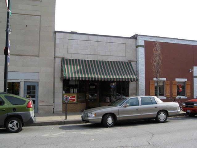Booches's nondescript storefront