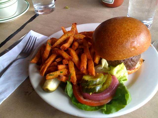 DuMont hamburger
