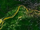 The Amazon, as seen from space.