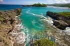Port Antonio, Jamaica, as seen from Folly Point Lighthouse