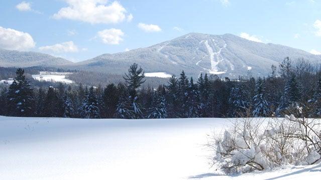 burke mountain vermont winter ski snowboard travel