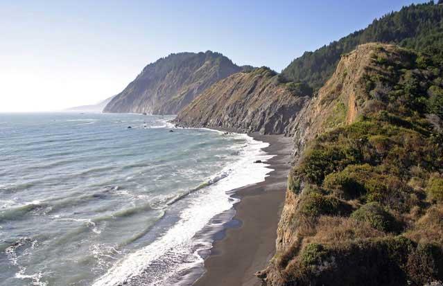 hiking california beach humboldt county