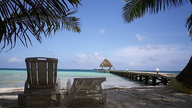 coco plum island belize island cheap rental