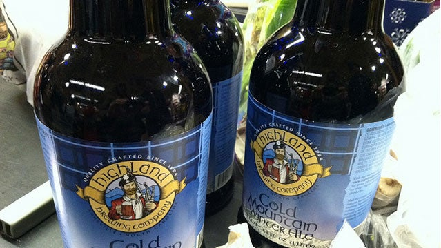 beer Cold Mountain Winter Ale micro brew craft brew