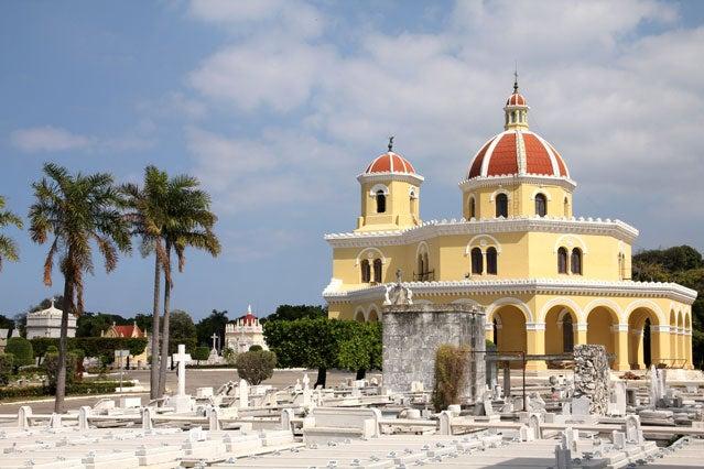 Havana's Necropolis Cristobal Colón.