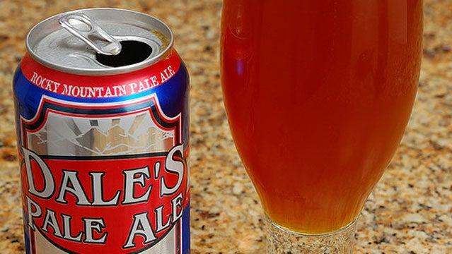 Dale's Pale Ale beer Oskar Blues North Carolina