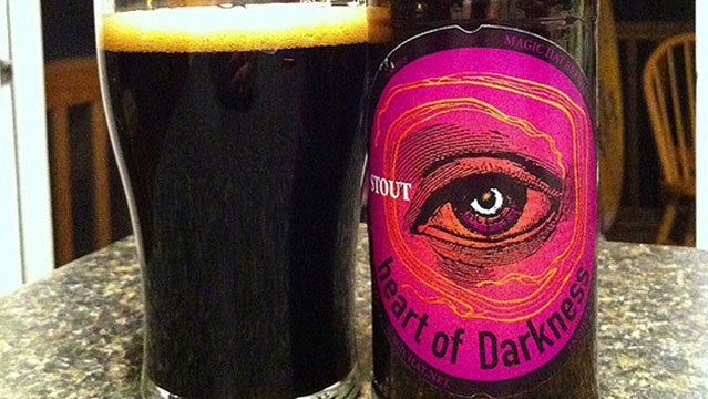 beer magic hat heart of darkness stout