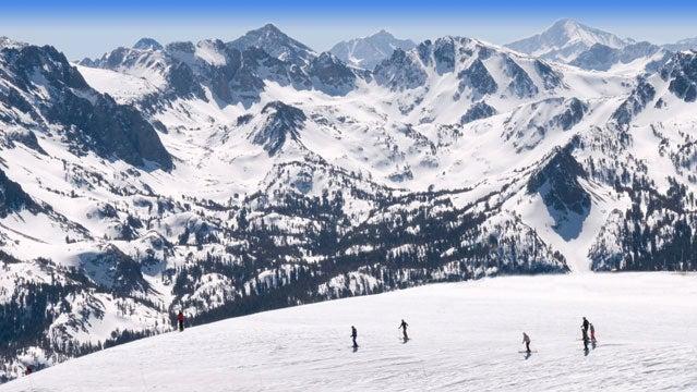 mammoth mountain skiing travel spring break california