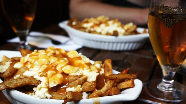 poutine montreal canada adventure vacation food canadian food