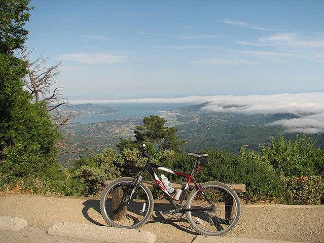 mt tamalpais california mountain biking