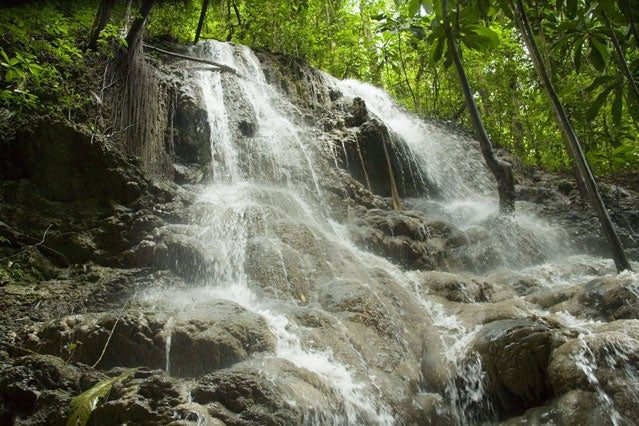 somerset waterfall