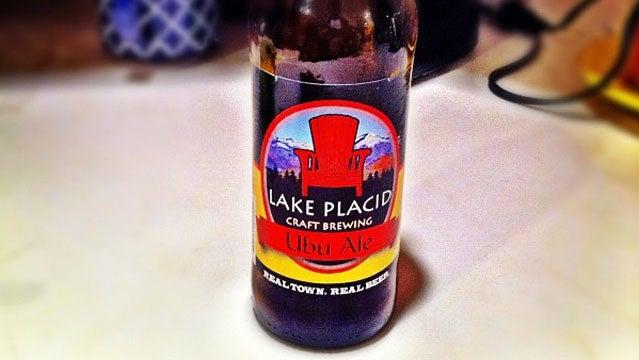Ubu ale New York Lake Placid beer