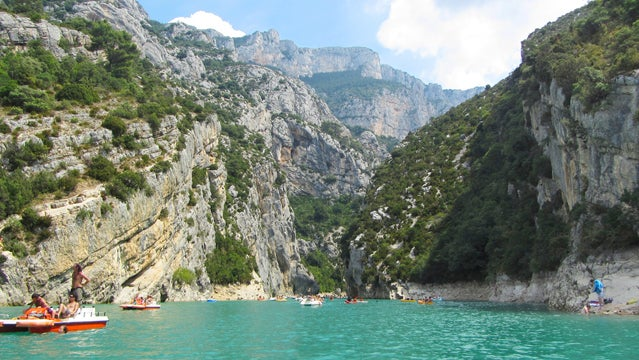 Verdon Gorge france canyons hiking best places