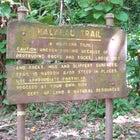 Kalulau Trail sign.