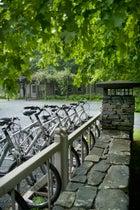 Bikes at Twin Farms.