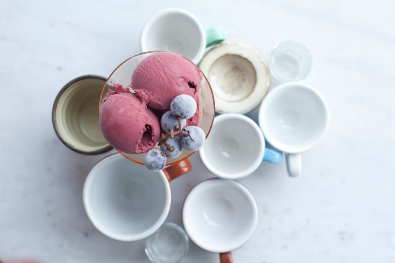 dolcezza dc gelato local brand ingredients food ginger outside magazine outside online boozy ice cream concord grape