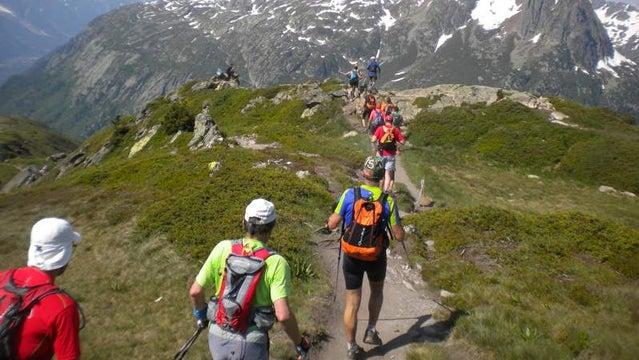 Mont-Blanc Marathon France trail running running marathon