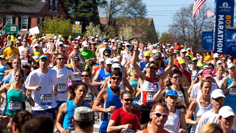 Boston Marathon.