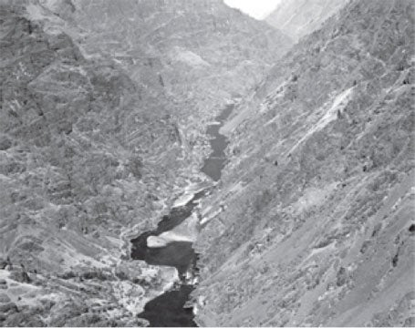 Hunt and his large Overland Party found themselves trapped in Hells Canyon of the Snake River, the deepest in North America.